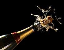 Vier het nieuwe jaar Royalty-vrije Stock Fotografie