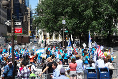 2014 vier Israel Parade Stock Foto