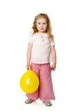 Vier Jahre Mädchen stockbilder