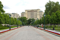 Vier Jahreszeit-Hotel Moskau, 2, Okhotny Ryad, Moskau, Russland 2. Juni 2016 Lizenzfreie Stockfotografie
