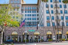 Vier Jahreszeiten in Beverly Hills, Kalifornien stockfoto