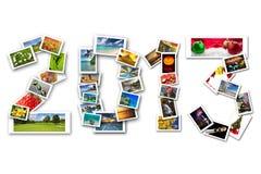 Vier Jahreszeiten von 2013 Lizenzfreies Stockfoto