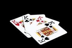 Vier Könige Stockfotos