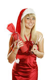Vier Kerstmis? Royalty-vrije Stock Afbeeldingen