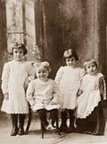 Vier Kinder Stockbilder