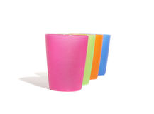 Vier kleurenglas Royalty-vrije Stock Afbeeldingen
