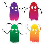 Vier kleurenspook Stock Foto