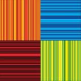 Vier kleurenstrepen Royalty-vrije Stock Fotografie