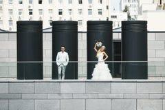 Vier kolommen Royalty-vrije Stock Afbeelding