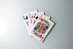 Vier Koningen Royalty-vrije Stock Afbeeldingen
