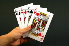 Vier koningen Stock Foto's