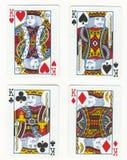 Vier Koningen royalty-vrije stock foto's