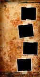 Vier leere Fotos Lizenzfreies Stockfoto