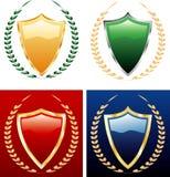 Vier Lorbeer lizenzfreie abbildung
