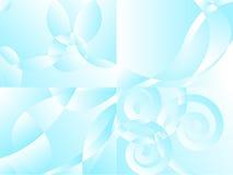 Vier Lufthintergründe Stockfoto