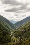 Vier Mädchen-Berg in Sichuan, China Lizenzfreies Stockfoto