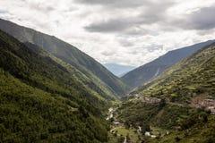 Vier Mädchen-Berg in Sichuan, China Lizenzfreie Stockfotos