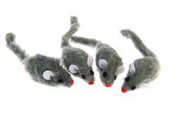 Vier Mäuse Stockfotografie