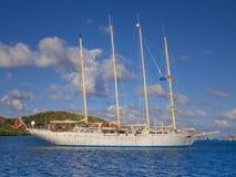 Vier masted varend schip Stock Foto