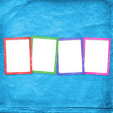 Vier mehrfarbig vektor abbildung