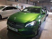 Vier Mercedes royalty-vrije stock afbeelding