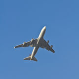 Vier Motorflugzeuge Stockfoto