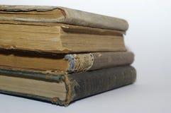 Vier oude boeken Royalty-vrije Stock Afbeeldingen