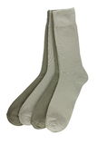 Vier Paare Socken der Männer Stockbilder