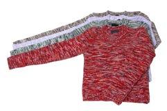 Vier prachtige sweaters. Royalty-vrije Stock Fotografie