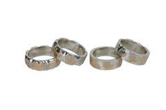 Vier Ringe stockfotos