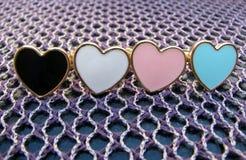 Vier ringen van de hertvorm Stock Foto's