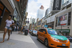 Vier Schritte nach Toronto Stockfoto