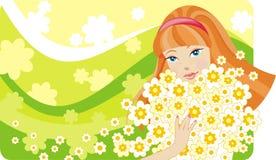 Vier seizoenen: de lente Stock Foto