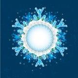 """Vier seizoenen: Schild 1 de """"Winter †(Reeks van 4 seizoengebonden schilden) Royalty-vrije Stock Afbeeldingen"""