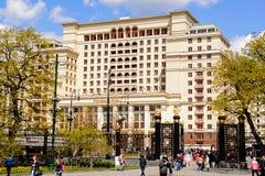 Vier Seizoenenhotel Moskou stock foto