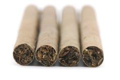 Vier sigaren Royalty-vrije Stock Afbeeldingen