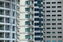 Vier soorten de bouw stock afbeeldingen