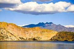 Vier Spitzen-Berg, Arizona, USA Lizenzfreies Stockfoto