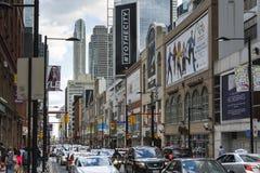 Vier stappen aan Toronto Royalty-vrije Stock Foto's