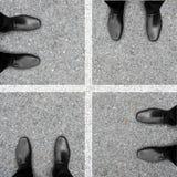 Vier stappen van bedrijfssucces Royalty-vrije Stock Afbeelding