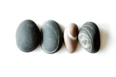Vier stenen Royalty-vrije Stock Fotografie