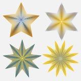 Vier Sterne stock abbildung