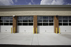 Vier Türen Lizenzfreie Stockfotografie