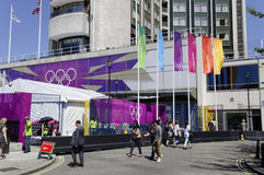Vier Tage nach London 2012 Olympics Stockfoto