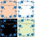 Vier tekeningen Royalty-vrije Stock Afbeeldingen