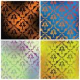 Vier texturen Stock Afbeeldingen