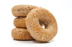 Twaalf Ongezuurde broodjes van de Korrel Royalty-vrije Stock Foto's