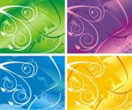 Vier varianten Royalty-vrije Stock Afbeelding