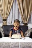 Vier verjaardag Stock Fotografie