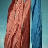 Vier vlaggen Stock Afbeelding